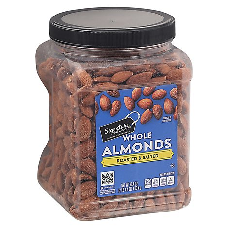 Signature SELECT Almond Roasted & Salted - 36.4 Oz