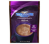 Ghirardelli Chocolate Cocoa Mix Hot Premium Chocolate Mocha - 10.5 Oz