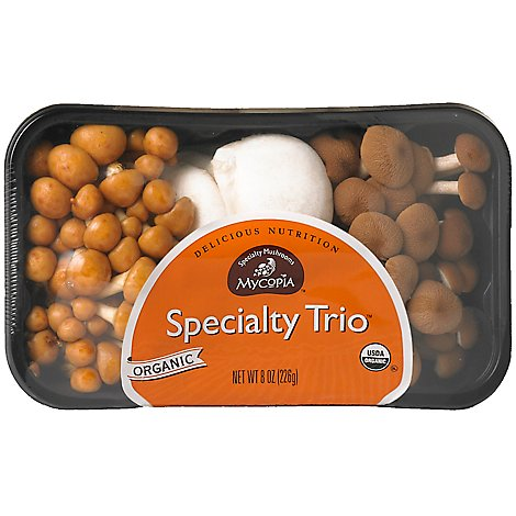 Mushrooms Specialty Trio Organic - 8 Oz