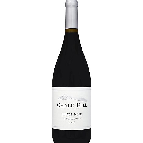 Chalk Hill Sonoma Pinot Noir Wine - 750 Ml