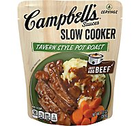 Campbells Sauces Slow Cooker Tavern Style Pot Roast Pouch - 13 Oz