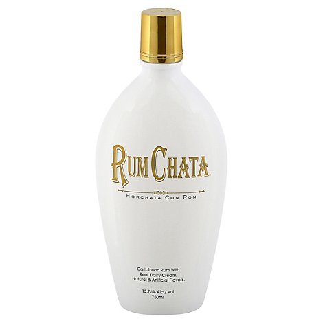 Rum Chata Rum Caribbean with Real Dairy Cream 27.5 Proof - 750 Ml