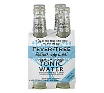 Fever-Tree Tonic Water Naturally Light - 4-6.8 Fl. Oz.