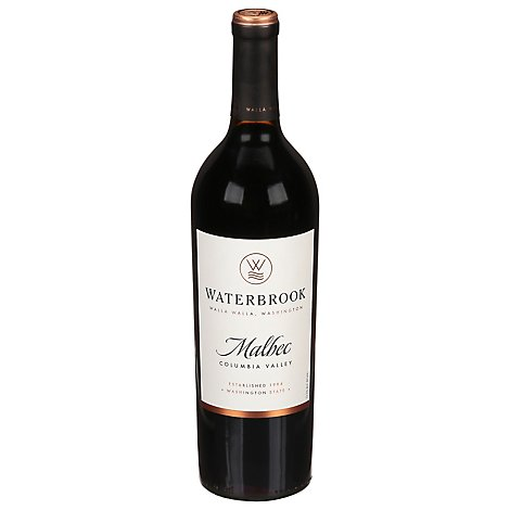 Waterbrook Malbec Wine - 750 Ml