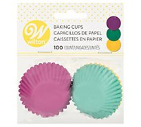 Wilton Baking Cups Assorted - 100 Count