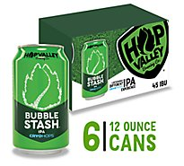 Hop Valley Bubble Stash IPA In Cans - 6-12 Fl. Oz.