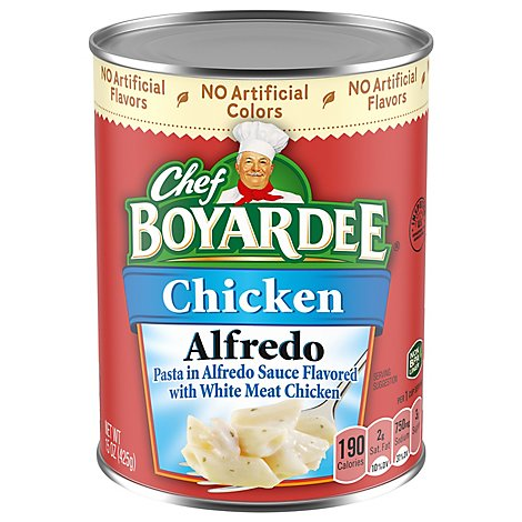 Chef Boyardee Pasta Chicken Alfredo - 15 Oz