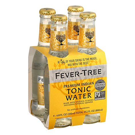 Fever-Tree Premium Indian Tonic Water - 4-6.8 Oz