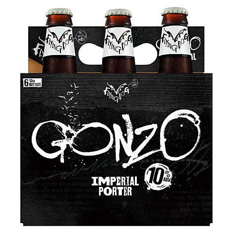 Flying Dog Gonzo Imperial Porter Bottles - 6-12 Fl. Oz.