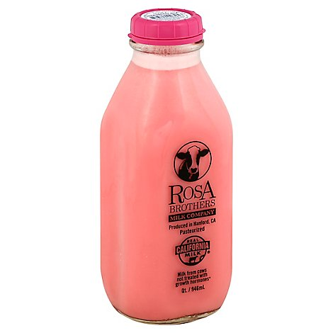 Rosa Brothers Milk Strawberry - 1 Quart