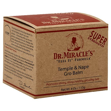 Dr. Miracles Temple And Nape Balm - 4 Oz