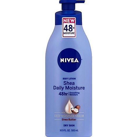 NIVEA Body Lotion Smooth Sensation Dry Skin - 16.9 Fl. Oz.
