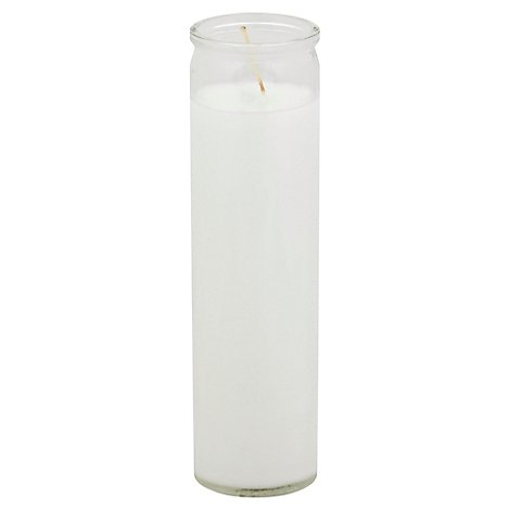 St. Jude Candle White - Each