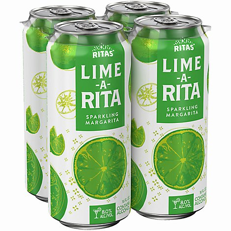 Bud Light Lime Lime A Rita In Cans - 4-16 Fl. Oz.