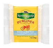 Kerrygold Cheese Dubliner Natural Reduced Fat - 7 Oz