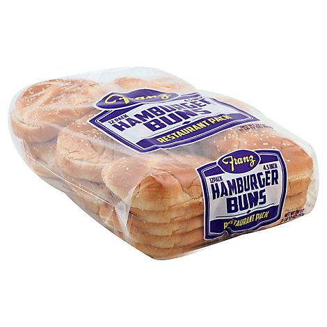 Franz Hamburger Buns 12 Count - 28 Oz