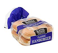 Alaska Grains Baking Co Hamburger Buns - 15 Oz