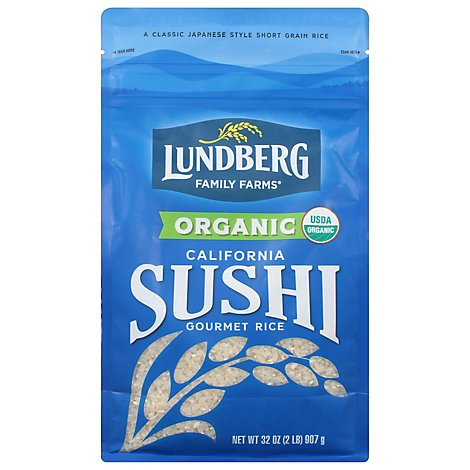 Lundberg Voyages Rice Organic California Sushi - 32 Oz