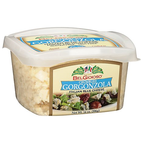 BelGioioso Cheese Crumbly Gorgonzola Tubs - 14 Oz