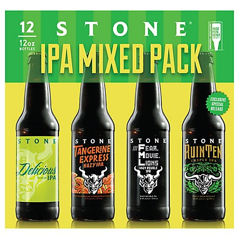 Stone Variety In Bottles - 12-12 Fl. Oz.