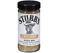 Stubbs Spice Rub All-Natural Chicken - 2 Oz