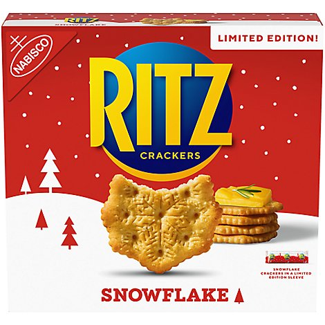 RITZ Crackers Snowflake Limited Edtion - 13.7 Oz