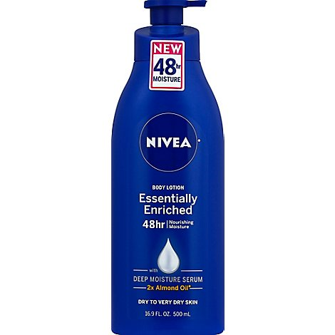 NIVEA Body Lotion Essentially Enriched - 16.9 Fl. Oz.