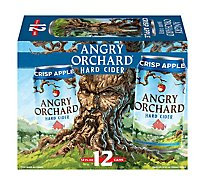 Angry Orchard Hard Cider Crisp Apple Cans - 12-12 Fl. Oz.