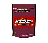 Hot Tamales Chewy Candies Flavored Fierce Cinnamon Stand Up Bag - 10 Oz