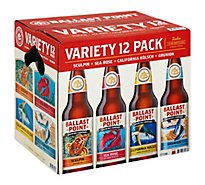 Ballast Point Variety Pack Botle - 12 Fl. Oz.