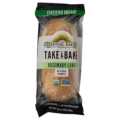 The Essential Baking Company Bake At Home Fresh Rosemary - 16 Oz
