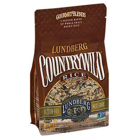 Lundberg Gourmet Blends Rice Country Wild Brown - 16 Oz