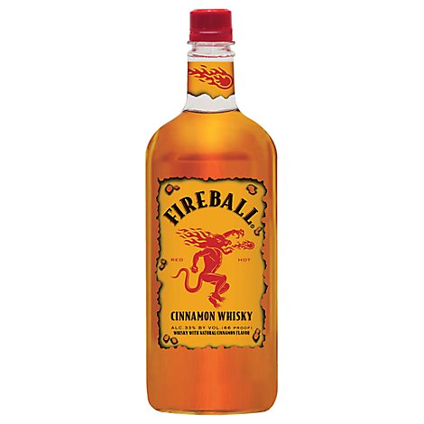 Fireball Cinnamon Whisky 66 Proof Pet - 750 Ml