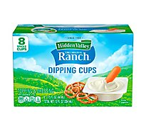 Hidden Valley The Original Ranch Dressing To Go Single Cups - 8-1.5 Fl. Oz.