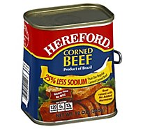Hereford Corned Beef 25% Less Sodium - 12 Oz
