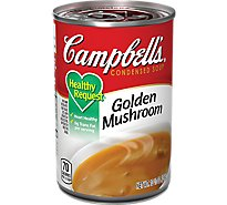 Campbells Healthy Request Soup Condensed Golden Mushroom - 10.5 Oz