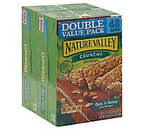 Nature Valley Granola Bars Crunchy Oats n Honey Double Value Pack - 2-17.8 Oz