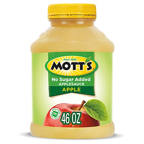 Motts Applesauce Natural Jar - 46 Oz