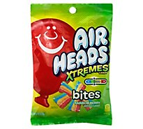 Airheads Candy Xtremes Bites Rainbow Berry Soft & Chewy - 6 Oz