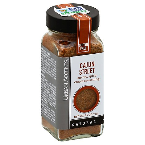 Urban Accents Seasoning Creole Cajun Street - 2.5 Oz