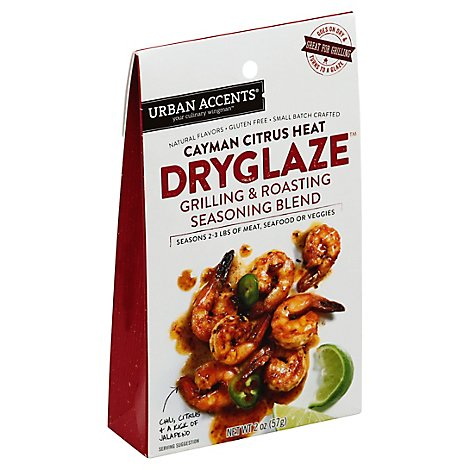 Urban Accents Dry Glaze Cayman Citrus Heat Chili Citrus & Jalapeno - 2 Oz