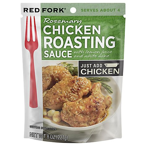 Red Fork Roasting Sauce Rosemary Chicken Pouch - 8 Oz
