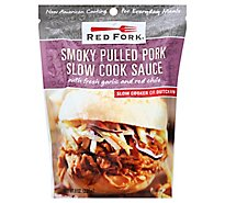 Red Fork Slow Cook Sauce Smoky Pulled Pork Pouch - 8 Oz