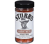 Stubbs Spice Rub All-Natural Bar-B-Q - 2 Oz