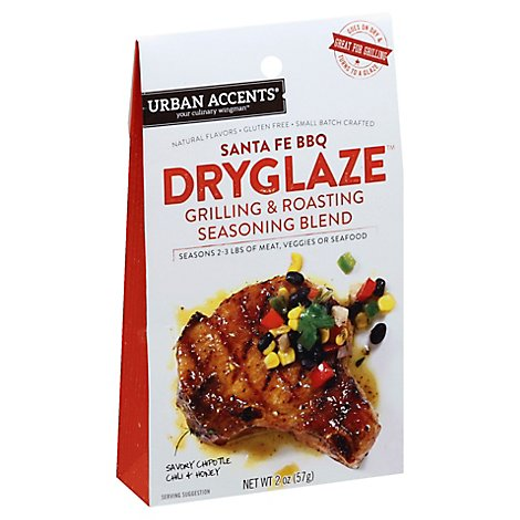 Urban Accents Dry Glaze Santa Fe BBQ Honey & Chipotle Chili - 2 Oz