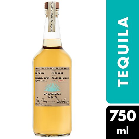 Casamigos Tequila Reposado 80 Proof - 750 Ml