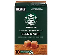 Starbucks Coffee K-Cup Pods Caramel - 10-0.35 Oz