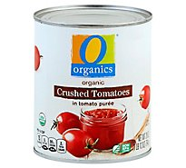 O Organics Organic Tomatoes Crushed In Tomato Puree - 28 Oz