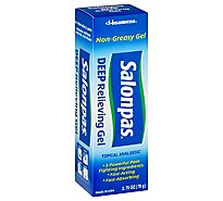 Salonpas Deep Relieving Gel - 2.75 Oz