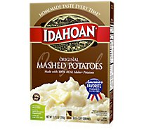 Idahoan Potatoes Mashed Original Box - 13.75 Oz